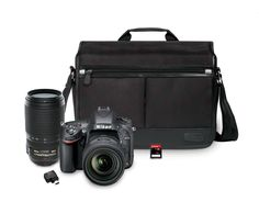 Save $900 on the Nikon D610 24.3 MP CMOS FX-Format Digital SLR Camera Bundle with 24-85mm and 70-300mm Nikkor VR AF-S Lenses
