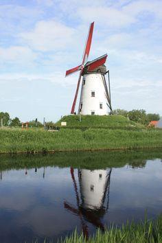 Belgium - Brugge, Damme Mill                                                                                                                                                                                 More