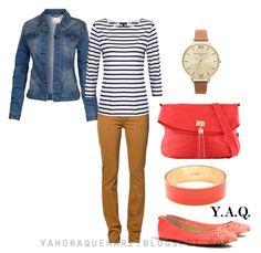 Y. A. Q. - Blog de moda, inspiración y tendencias: [Y ahora qué me pongo con] Una cartera coral