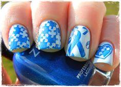 A Girl and Her Polish: Autism Awareness