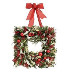 Square Wreath - ELLEDecor.com