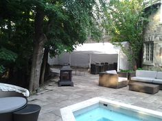 Backyard Pool Party https://www.facebook.com/omegaeventrentals/