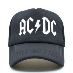 9dd03fca761 ACDC Mesh Cap - Trucker Hat. Heavy Metal RockMesh ...