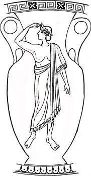 printable ancient greece coloring sheets ancient greek vase template google