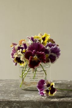 pansies....simple and pretty