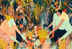 In the Garden on Behance