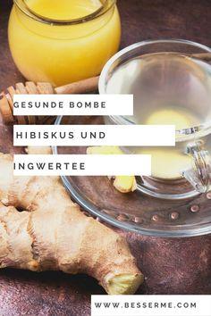 Seid ihr auf der Suche nach einem leckeren Getränk das euer Immunsystem und eure Gesundheit unterstützt? Mit diesem leckeren Hibiskus und Ingwertee kommt ihr voll auf eure Kosten.