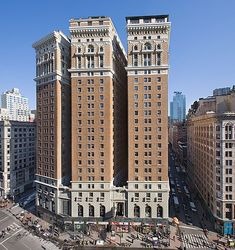 The Hotel McAlpin, Herald Square, New York. (Now the Herald Towers apartments)