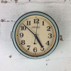 Vintage marine clocks