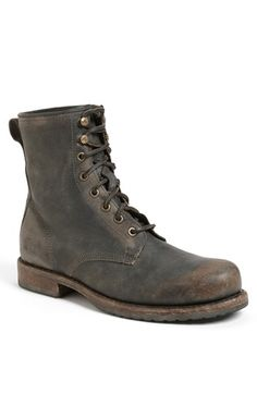 Free shipping and returns on Frye 'Wade' Boot at Nordstrom.com. Beat-up leather forms a weathered combat boot laced with rough rawhide.