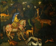 Visione di sant'Eustachio (1438-1442 circa; Londra, National Gallery)
