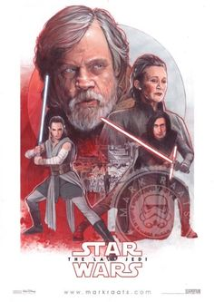 The Last Jedi Poster - Mark Raats