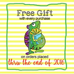 Craft Chameleon, formerly Punch Place Plus: Free Gift with Order through 2016!