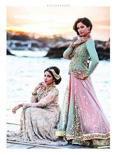 Allechant Bridal Couture Photo By: Sachi Anand Photography. Pakistani Bridal Dresses, Indian Bridal Wear, Asian Bridal, Pakistani Wedding Dresses, Pakistani Outfits, Indian Outfits, Pakistani Clothing, India Fashion, Ethnic Fashion