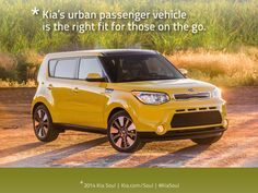 Kia's urban passenger vehicle is the right fit for those on the go. Congrats to the Kia Soul on winning the Active Lifestyle Vehicle award two years in a row: http://www.kiamedia.com/us/en/media/pressreleases/7521/all-new-2014-kia-soul-wins-active-lifestyle-vehicle-of-the-year