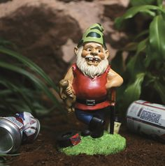 Skeeter the Redneck Gnome — Who's to Argue with Happiness?