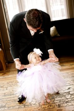 about Wedding - Bride and Groom with child on Pinterest Flower girls ...
