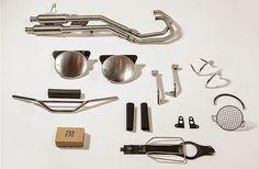 MotArt: Moto Guzzi V7 Scrambler Kit