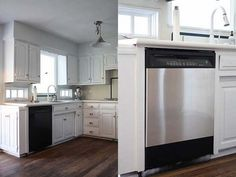 Use stainless steel contact paper to make your appliances look more expensive