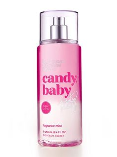 People always say I smell sweet.  That's because I am.  ;)    ...and because of this...Candy Baby by Victoria's Secret.