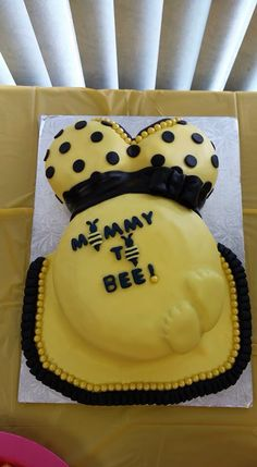 Bumble Bee Themed Baby Shower Cake Celebrations