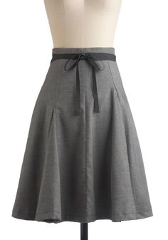 Kick Ball Change Skirt: I want to wear it with cute closed toe heals and a frilly shirt. $120.99