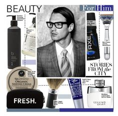 """""""Beauty For Him"""" by kusja ❤ liked on Polyvore featuring beauty, Montblanc, Bamford, Taylor of Old Bond Street, Original Penguin, The Art of Shaving, Kiehl's, Edwin Jagger, Dr. Jackson's and Schmid"""