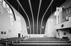 Parish Community Centre and the Heilig-Geist (Holy Ghost) Kindergarten | Röntgenstraße, Germany | Alvar Aalto