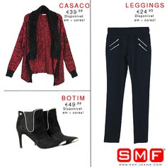 www.smf-jeans.com shoponline today!  Must Have > > SMF Shop Online! >>> Shop Here: http://www.smf-jeans.com/mulher/leggings/leggings-7622 http://www.smf-jeans.com/calcado/mulher/botim http://www.smf-jeans.com/mulher/casacos/casaco-6410