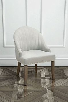 MY-Furniture Upholstered Elegant Dining Chair – KARISS Cream
