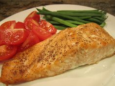 Accelerate cycle 1 - Baked Salmon & The 17 Day Diet...I will try to eat more fish (and try not to say yuck!)