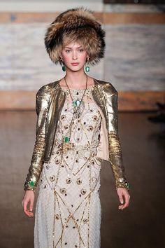 Russian Culture Inspires Temperley London Fall/ Winter 2012/ 2013