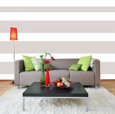 Stripe Wall Decals via Etsy