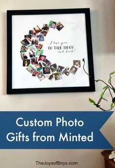 I love my new photo collage!  Don't Hide Your Memories on a computer,get them up on your wall with a custom photo gift from Minted. #mintedkids AD
