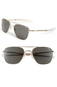 Randolph Engineering 58mm Polarized Aviator Sunglasses | Nordstrom