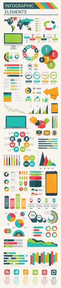 Infographic Tutorial infographic tutorial illustrator cs2 download : Modern Infographics Elements Template PSD, Vector EPS, AI ...