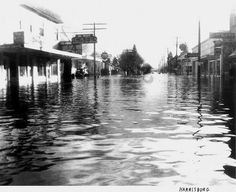 Harrisburg flood--Main Street ----- Harrisburg Oregon by curtisirish, via Flickr