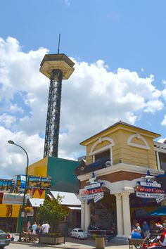 Love seeing the Space Needle in Gatlinburg! It's such a unique landmark!