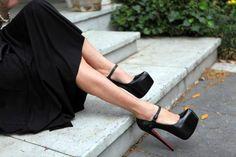 Grandiosos zapatos de noche para fiesta