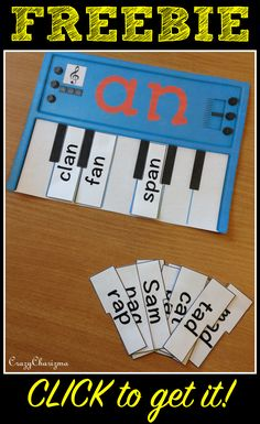 *Freebie* Word Families activities for beginning reading. The resource contains…