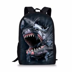 Undersea World With Fish Durable Kids Back To School Backpack Polyester Book Bag For Boys Girls Adults