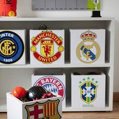 me encantan!!! cajas de sus equipos favoritos