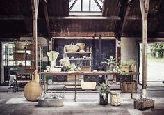 Keuken met oude werk