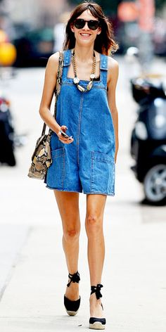 See Alexa Chung's Chic Street Style Looks - July 22, 2012 from #InStyle
