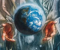 """Today's Short Reading from the Bible. from Genesis : """"And God promised men that good and obedient wives would be found in all corners of the earth."""" Then he made the earth round.and he laughed and laughed and laughed! Genesis Creation, Gods Creation, Genesis 2, Hands Holding The World, Holding Hands, Jeremiah 29 13, In The Beginning God, God Is Amazing, Hand Photo"""