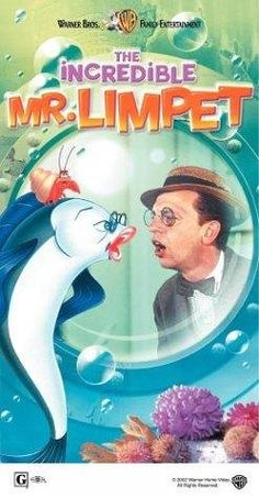 """""""THE INCREDIBLE MR. LIMPET"""" (1964) DON KNOTTS, CAROLE COOK, ANDREW DUGGAN"""