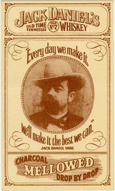 Classic art of a classic whiskey jack daniels for Pochoir jack daniels