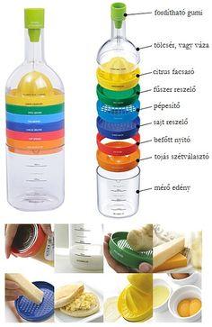 Bin 8 Mágikus konyhai eszköztár. Tartalmaz minden olyan eszközt, amit szinte mindennap kellene használnod, azonban a helyett, hogy egy teljes polcot e...