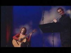 Piazzolla Duo plays Domeniconi's Sonatina Mexicana part 1 - YouTube