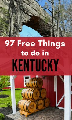 97 Free Things to do in Kentucky! - 97 Free Things to Do in Kentucky Vacation Places, Vacation Trips, Day Trips, Family Vacations, Vacation Ideas, Fun Vacations, Vacation Movie, Family Trips, Romantic Vacations